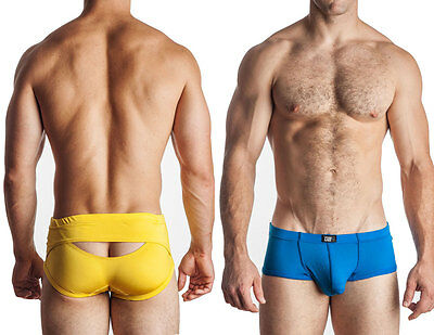 GBGB Mike low rise booty boy short men's boxer brief rear opening boxer (Low Rise Boy Brief)