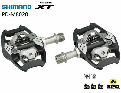 Shimano Deore XT PD-M8020 Pedales SPD Automaticos Clipless Mtb Bicicleta
