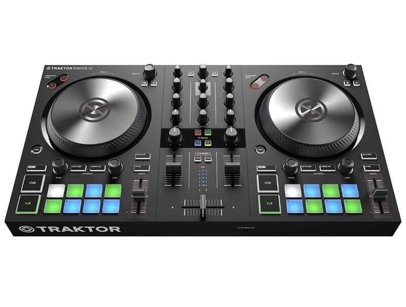 NATIVE INSTRUMENTS 2 Deck DJ Controller TRAKTOR KONTROL S2 MK3
