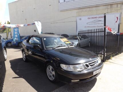 2003 Saab 9-3 Convertible Petersham Marrickville Area Preview