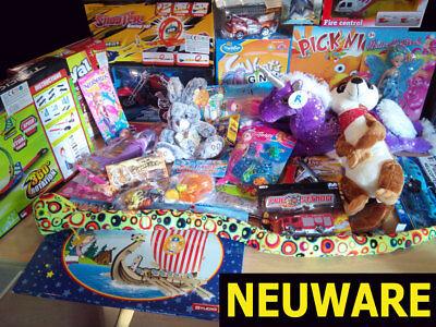 Spielzeugpaket für Mädchen (12 Teile)  - Lagerverkauf / Sonderposten
