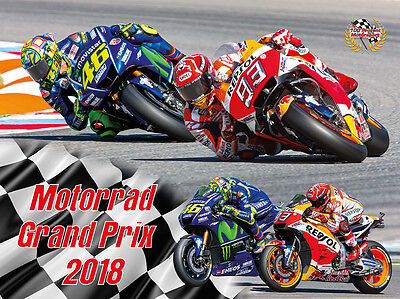 Motorrad Grand Prix 2018 Kalender MotoGP Rossi Marquez 46 93 Lorenzo Folger