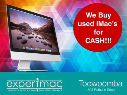 We buy/sell Imacs for cash