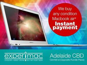 Wanted: Macbook Air All models Adelaide CBD Adelaide City Preview
