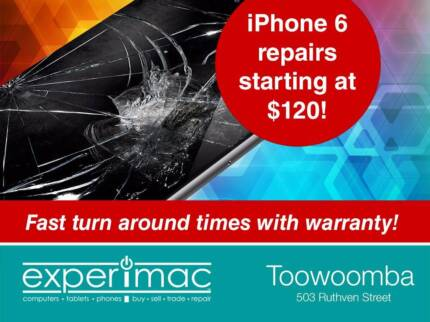 iPhone Repairs with fast Turn Arounds