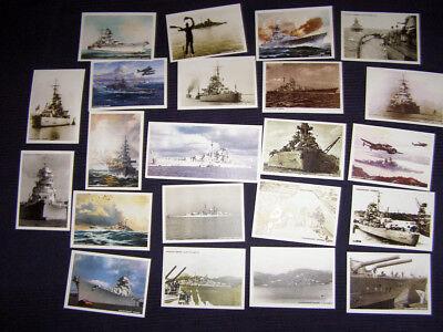 """10 Postkarten vom Schlachtschiff """"BISMARCK"""""""