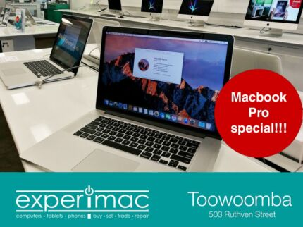 MacBook Laptops and iMac Desktops for sale starting at $360