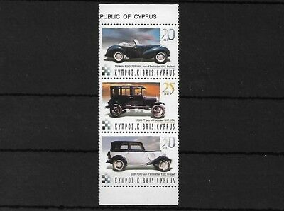 CYPRUS SG1048/50, 2003 CAR RALLY MNH