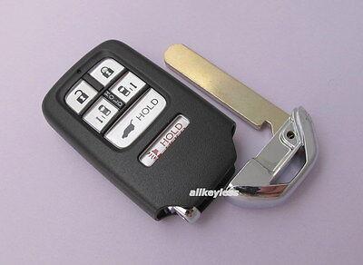 OEM HONDA ODYSSEY smart keyless entry remote fob transmitter + BLANK KEY INSERT