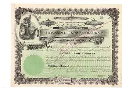Howard Park Company  1925