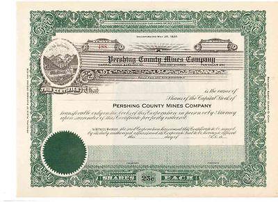 Pershing County Mines Company