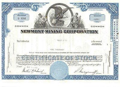 Newmont Mining Corporation  1970