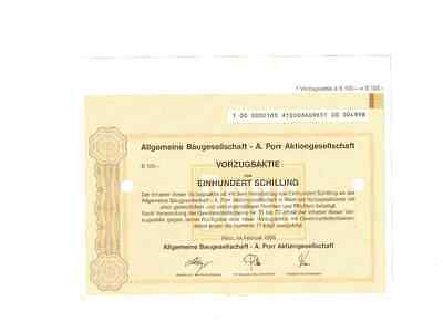 Allgemeine Baugesellschaft A.Porr AG  1996 Wien
