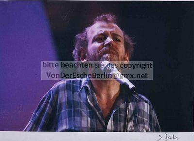 STARS: Joe COCKER Portrait - OriginalFarbFotografie von Ingo BARTH signiert