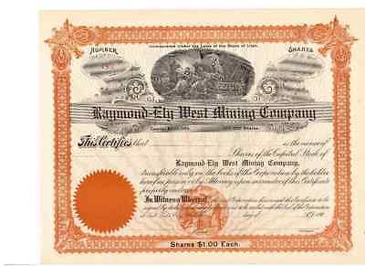 Raymond - Ely West Mining Company
