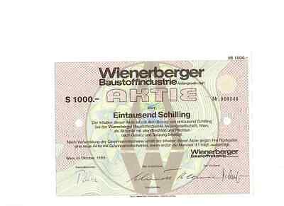 Wienerberger Baustoffindustrie AG 1989 Wien