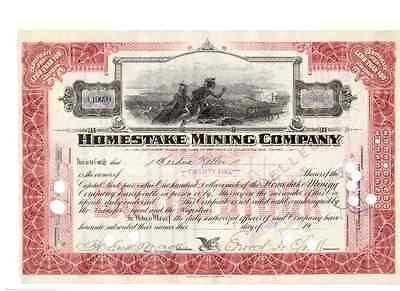 Homestake Mining Company 1919