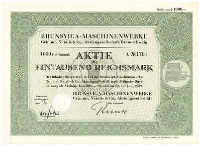 Brunsviga Maschinenwerke  1939  Braunschweig