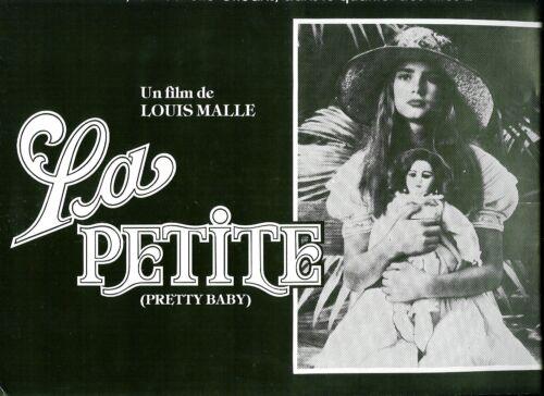 Brooke SHIELDS French Pressbook LA PETITE PRETTY BABY