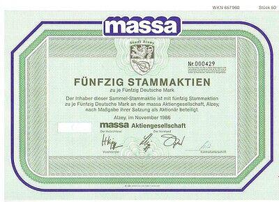Massa AG 2500DM Alzey 1986   Metro
