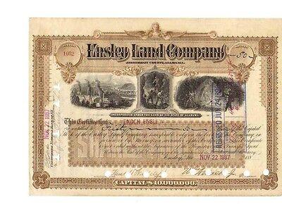 Ensley Land Company  1887    U: Enoch Ensley