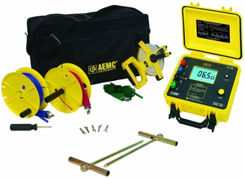 AEMC 2135.19 Ground Resistance Tester Model 4620 Kit