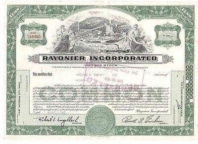 Rayonier Inc. 1962