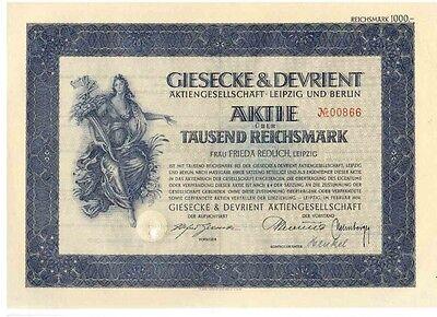 Giesecke & Devrient AG 1939