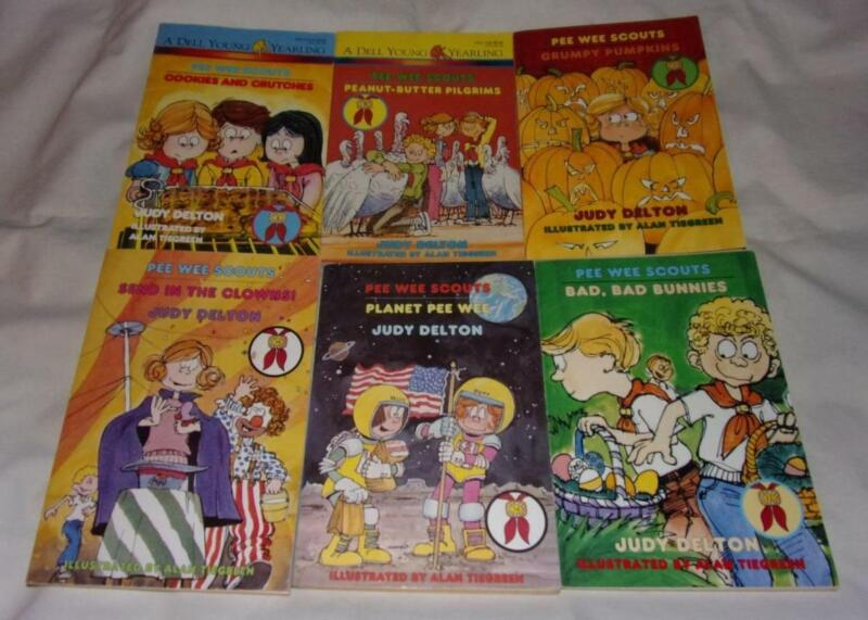 Set of 6 Pee Wee Scouts series books
