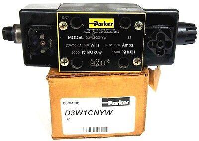 Parker D3w20dnyw Directional Control Solendoid Valve 5000psi 110-120v