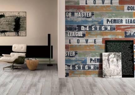 Ceramic floor tiles, (Cinca), beige, timber plank look | Building ...