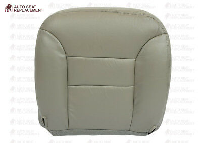 1995 To 1999 Chevrolet Suburban-Tahoe Driver Bottom Vinyl Seat Cover Gray #132