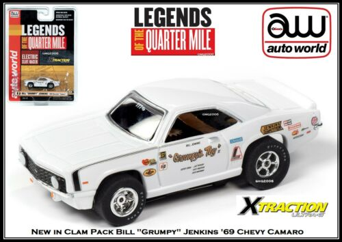 AW AUTO WORLD ~ New /'69 Chevy Camaro  ~ New in Clam Pack  ~  Also Fits Afx JL