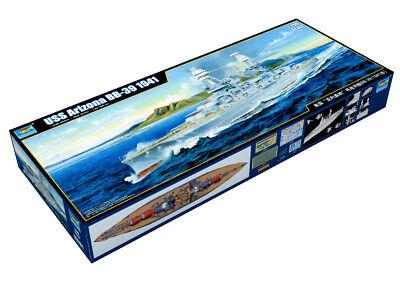 Trumpeter 9363701 Schlachtschiff USS Arizona 1:200 Schiffsmodell Modellbausatz