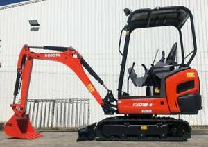 Kubota KX018-4 Mini Excavator Kewdale Belmont Area Preview