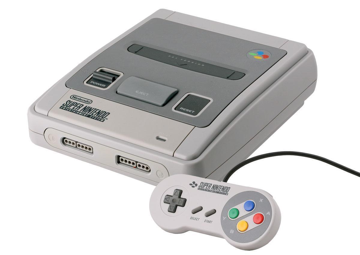Super Nintendo SNES Console