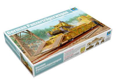 Trumpeter 9361508 Panzerträgerwagen 1:35 Eisenbahn Zugwaggon Modellbausatz
