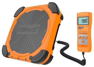 Elitech Lmc-200a Electronic Refrigerant Scale Charging Digital Weight Hvac Tools