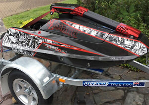 Surf/flat Water ski, Krash Footrocket 908 Nerang Gold Coast West Preview