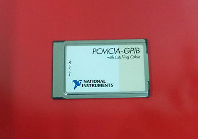 National Instruments Pcmcia-gpib Interface Card