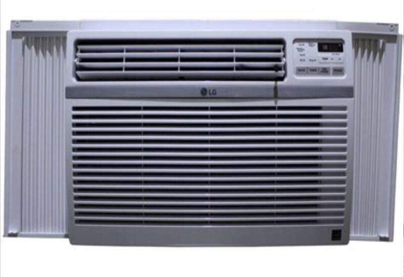 LG 18,000 BTU Window Air Conditioner White LW1816ER