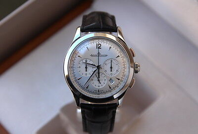 Jaeger LeCoultre Master Chronograph Automatic -Steel- Box/Papers-Q1538420-c.2013