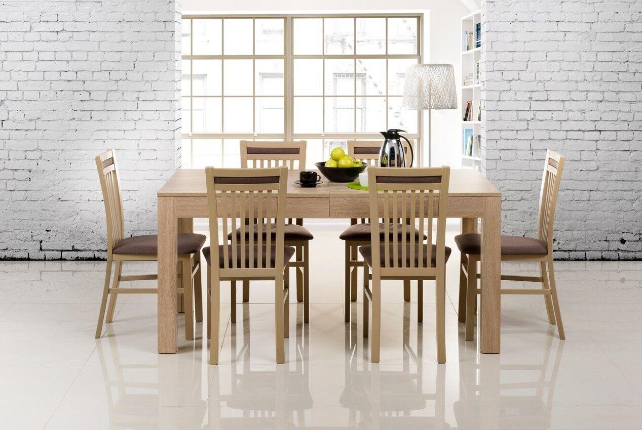 tisch k chentisch esszimmertisch esstisch wenus ausziehbar 300 cm eur 189 00 picclick de. Black Bedroom Furniture Sets. Home Design Ideas