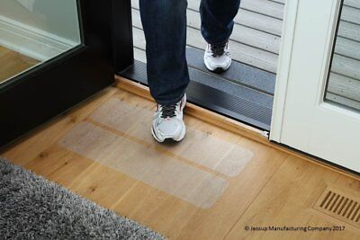 3 Rubberized Anti Slip Safety Non Skid Indoor Stair Step Grip Tape Clear 3 Pcs
