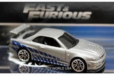 2020 Hot Wheels Fast & Furious Nissan Skyline GT-R R34 2Fast 2Furious
