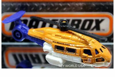 2016 Matchbox #62 MBX Heroic Rescue Sea Hunter Helicopter