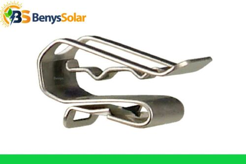 100 pcs PV Wire Clip Stainless SS Solar Cable Management