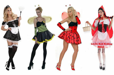 LADIES TEEN GIRL WOMEN COSTUME HALLOWEEN FANCY DRESS UP SEXY PARTY ADULT (Teen Party Outfits)