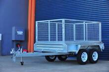 Heavy Duty 8x5 Tandem Trailer with 900mm Cage Underwood Logan Area Preview