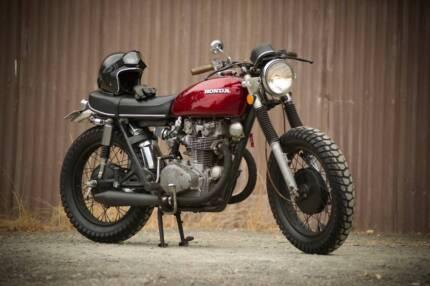 Honda CB 450 twin DOHC